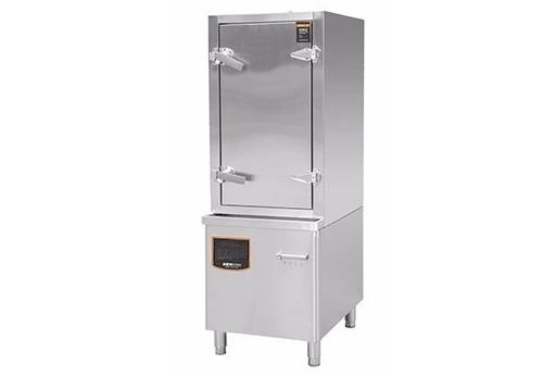 电磁海鲜蒸柜(中式)全钢