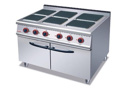 六头电煮食炉连柜座-ZH-TE-6A