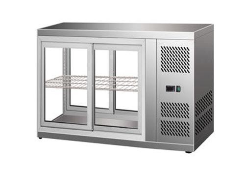 不锈钢台式风冷展示柜