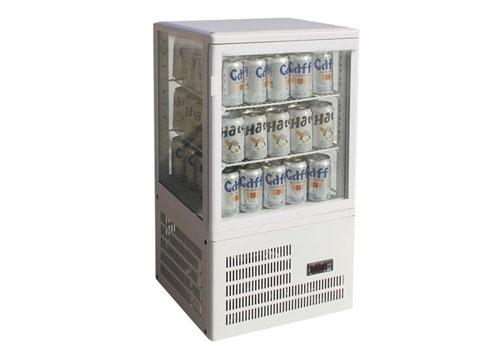 四面玻璃酒水冷藏展示柜