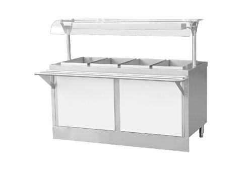 分控暖食售饭台