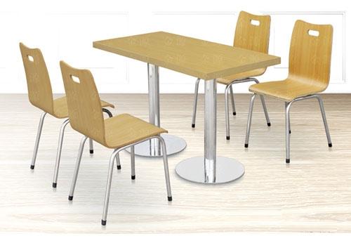 四座快餐桌椅系列